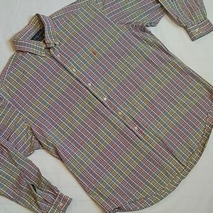 Polo Ralph Lauren Vtg L/S Casual Button Up Shirt